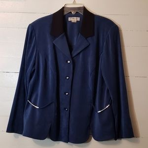 Blue & Black Jacket           0056